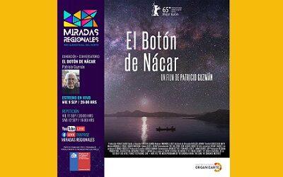 Con Patricio Guzmán sigue ciclo de cine documental online Miradas Regionales
