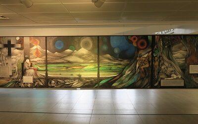 Muestra de Fernando Daza en Espacio Arte del Centro Cívico de Lo Barnechea
