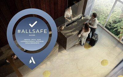 Accor implementa con éxito ALLSAFE en sus hoteles y resorts en todo el mundo